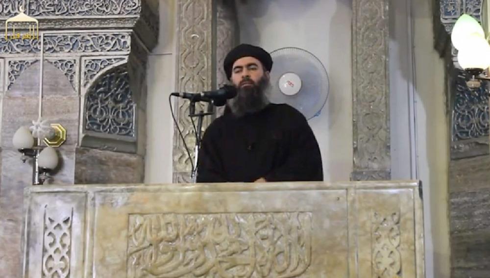 El líder del radical Estado Islámico, Abu Bakr al Bagdadi