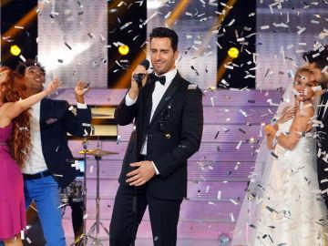 Pablo Puyol se transforma en Adam Levine en 'Tu Cara Me Suena'