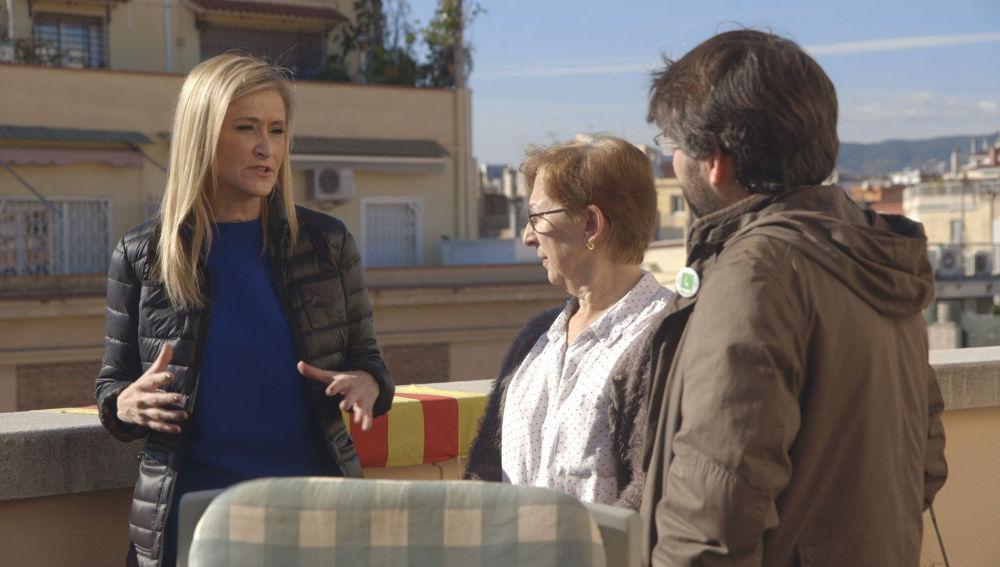 Cristina Cifuentes acude a Barcelona con 'Salvados'