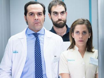 Rober, Iñaki y Carmen en 'Allí Abajo'