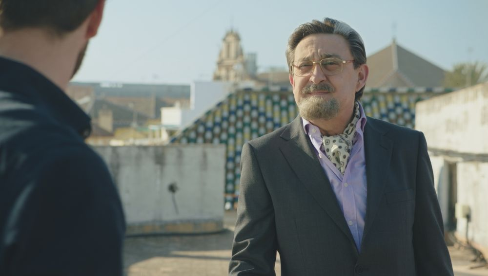 Mariano Peña es Don Benito Benjumea en 'Allí Abajo'