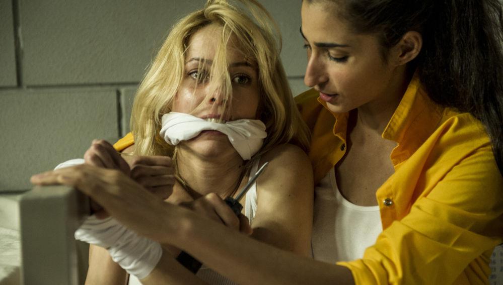 Zulema y Saray secuestran a Macarena en 'Vis a vis'