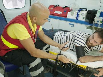 Iñaki pide en la ambulancia que lo lleven a la Clínica Híspalis