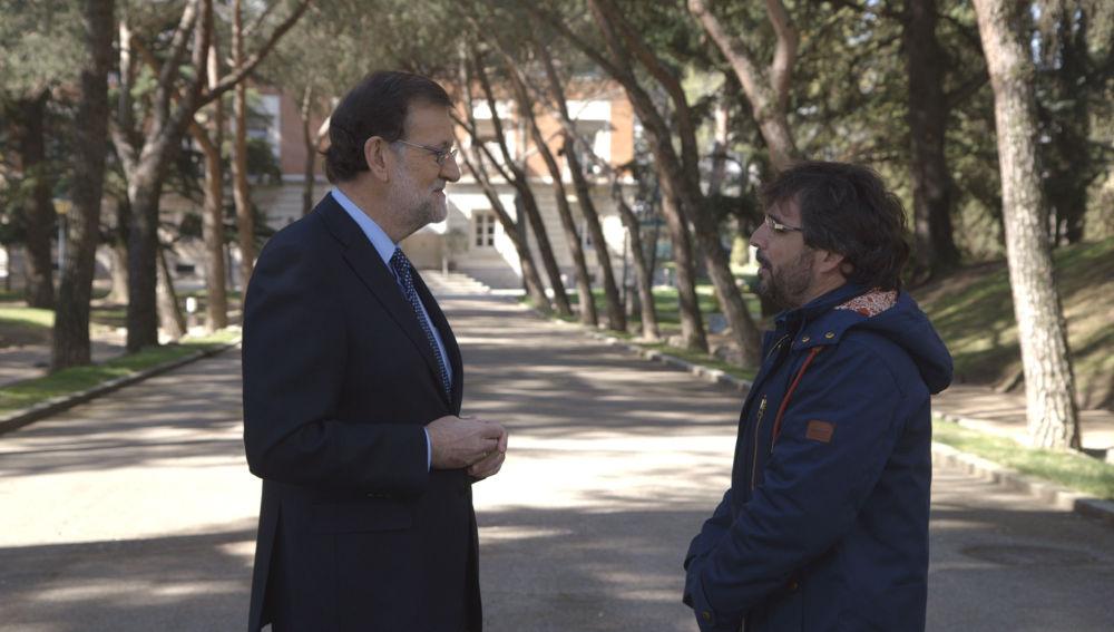 Jordi Évole entrevista a Mariano Rajoy en Salvados