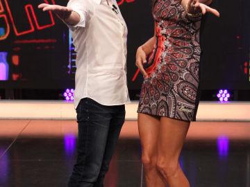 Alessandra Ambrosio y Pablo Motos en el Hormiguero