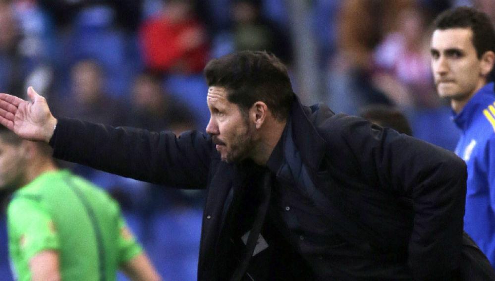 Simeone, entrenador del Atlético de Madrid