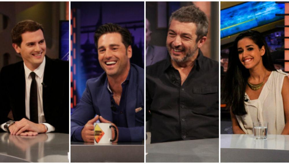 Albert Rivera, David Bustamante, Ricardo Darín e Inma Cuesta en 'El Hormiguero 3.0'