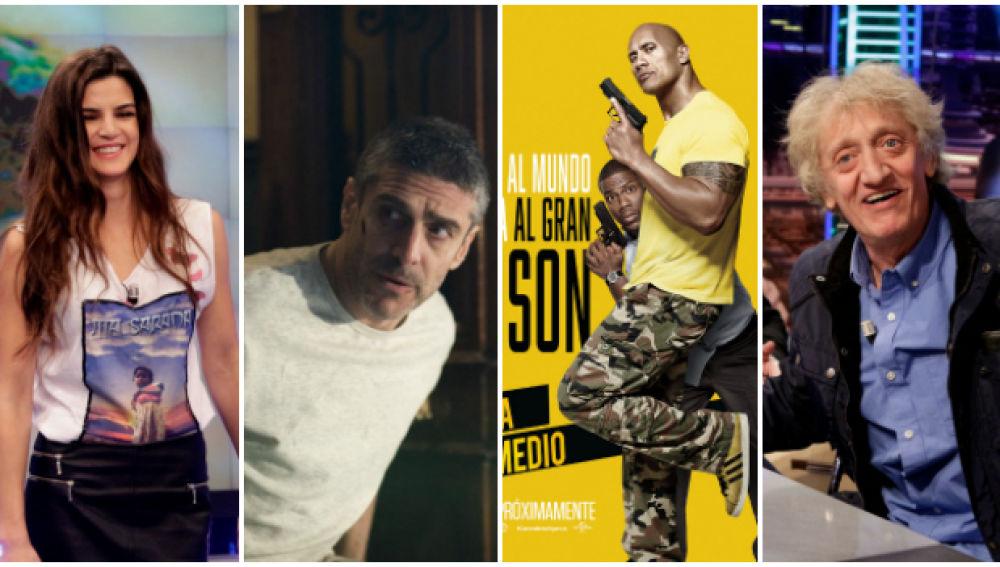 Clara Lago y Leonardo Sbaraglia, Dwayne Johnson y Kevin Hart y Enrique San Francisco acuden a 'El Hormiguero 3.0'