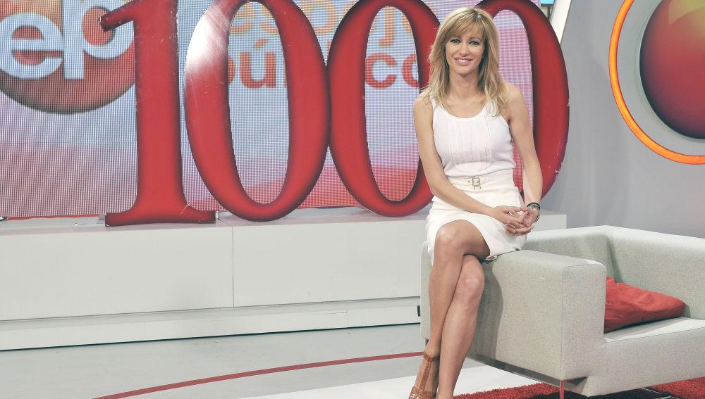 Susanna Griso celebra los 1000 programas de 'Espejo Público'