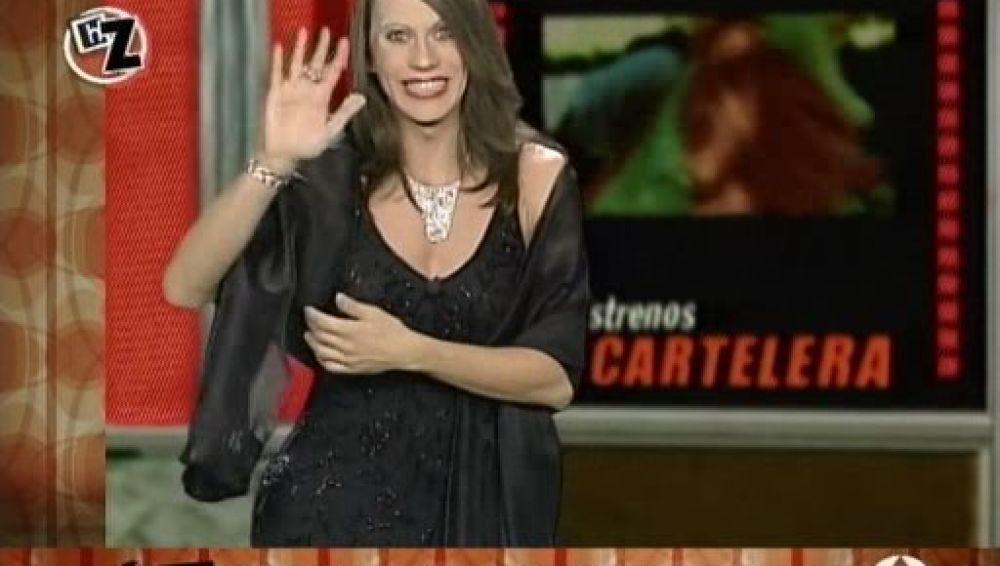 Paco León hizo famosa su imitación de Raquel Revuelta en 'Homo Zapping'