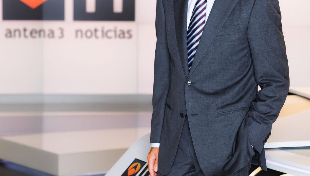 Matías Prats ha presentado las noticias de Antena 3 desde 1998