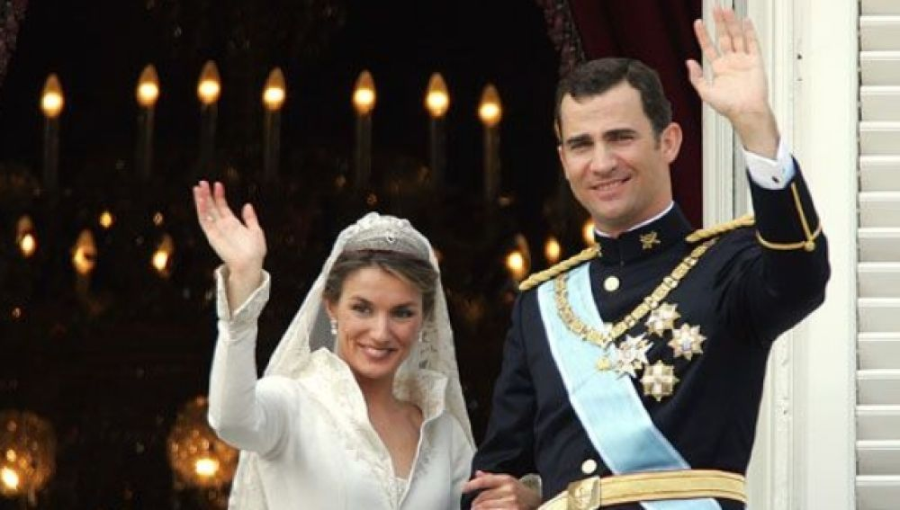 Antena 3 ofreció una completa cobertura de la boda de los Reyes, Felipe y Letizia