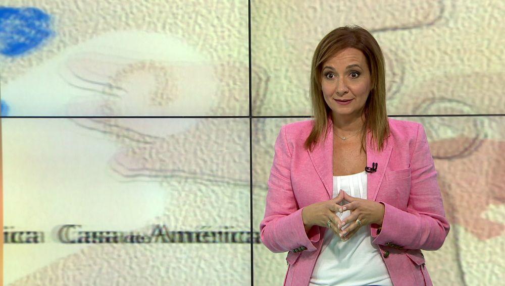Martha Blanco presentó 'Casa de América' en Antena 3 Internacional