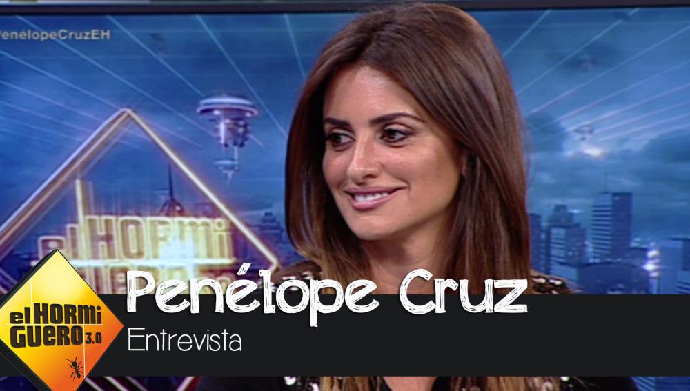 El Hormiguero - Penélope Cruz