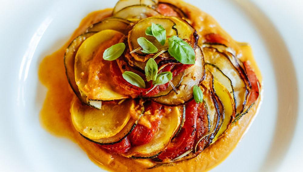Ratatouille, uno de los platos estrella Francés.