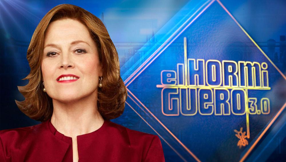 Sigourney Weaver visita 'El Hormiguero 3.0'