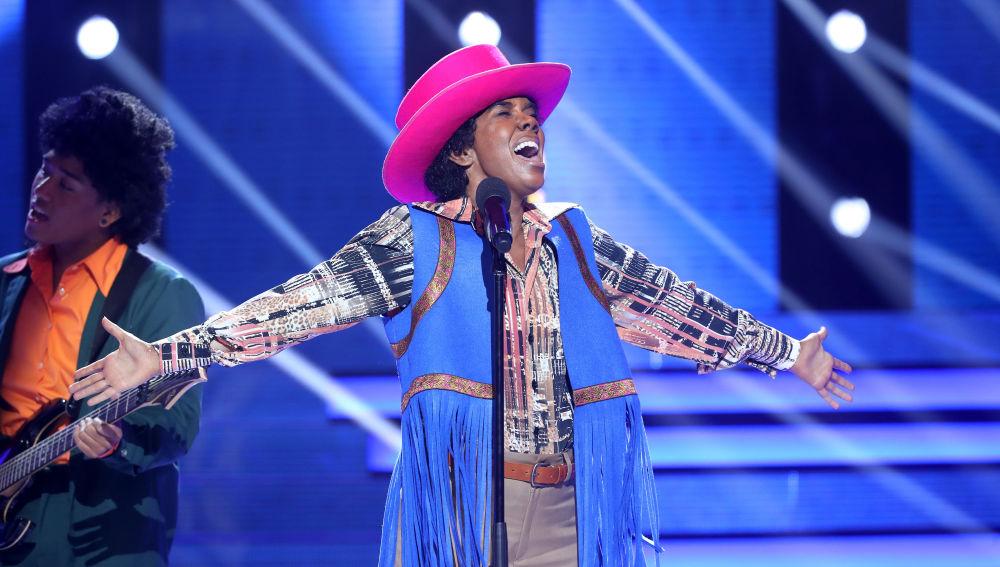Beatriz Luego se convierte en Michael Jackson para 'TCMS 5'
