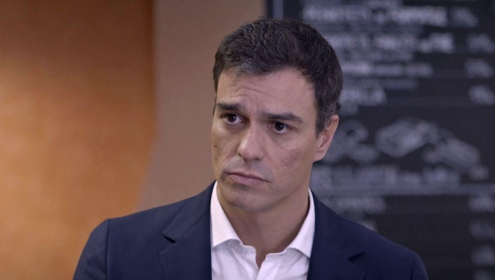 Pedro Sánchez en 'Salvados'