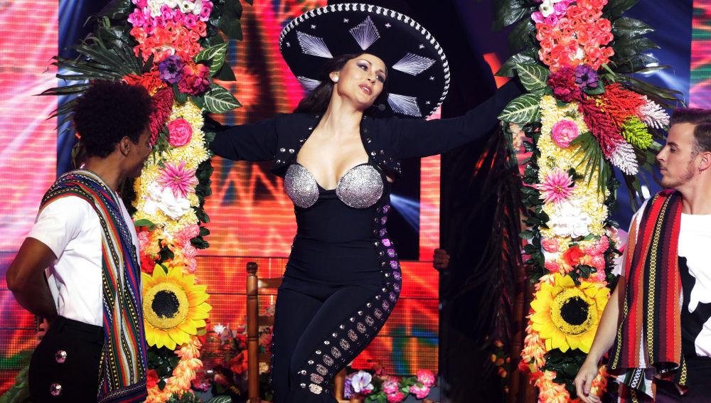 Rosa López se convierte en Thalia en 'Tu Cara Me Suena'