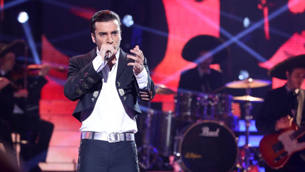 Blas Cantó se convierte en Alejandro Fernández en 'Tu Cara Me Suena'