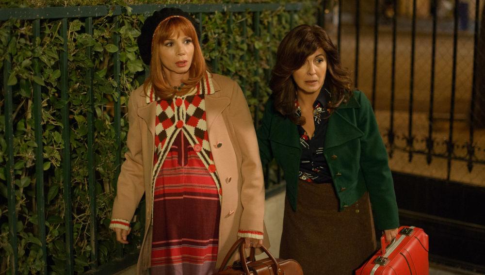 María conoce a Fernanda, su verdadera madre