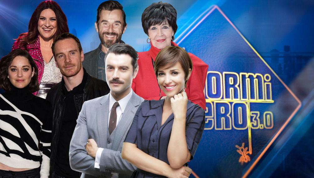 Michael Fassbender, Marion Cotillard, Laura Pausini y más en 'El Hormiguero 3.0'