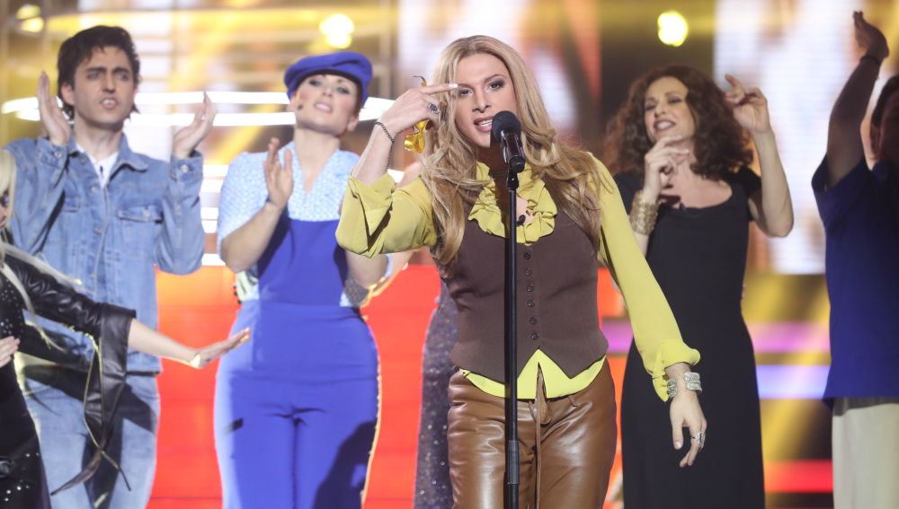 Blas Cantó, primer finalista de 'Tu Cara Me Suena 5'