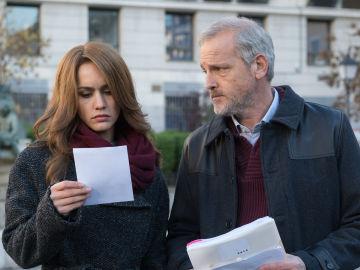 María y Francisco se unen contra Enrique en 'Sin Identidad'