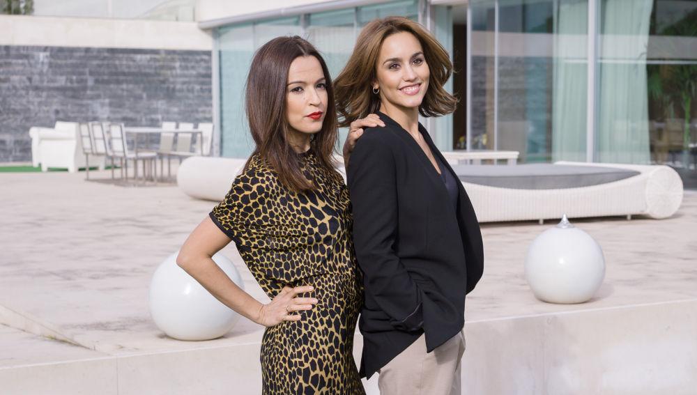 María y Amparo posan para la Fundación Vergel en 'Sin Identidad'