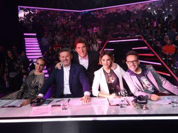 El jurado de 'Tu Cara No Me Suena Todavía' con Manel Fuentes