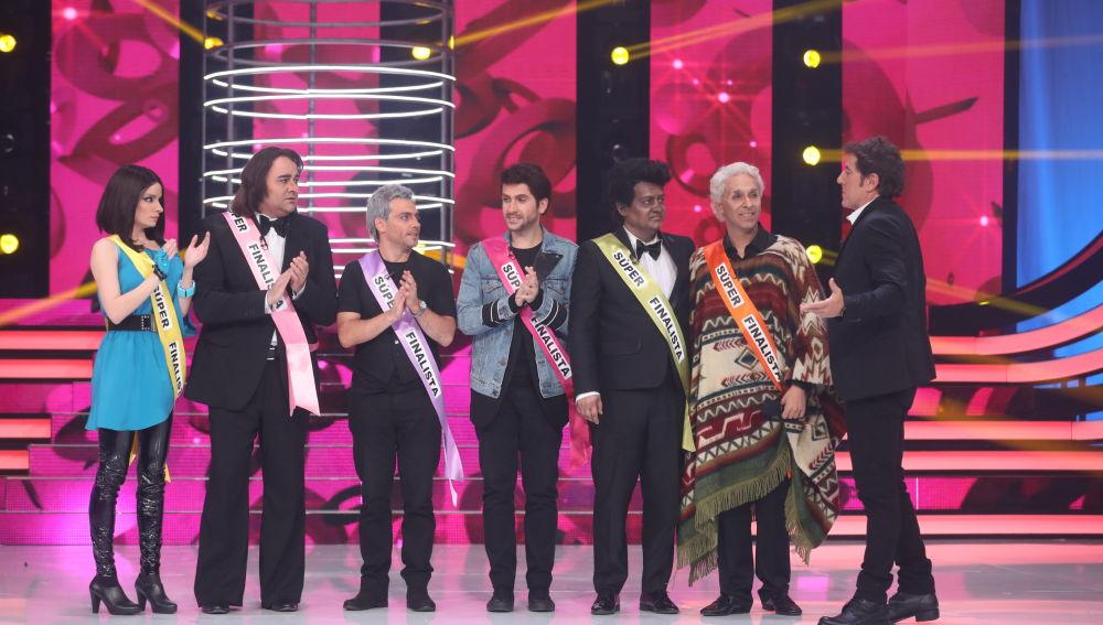 Los 'súper finalistas' de 'Tu Cara No Me Suena Todavía'