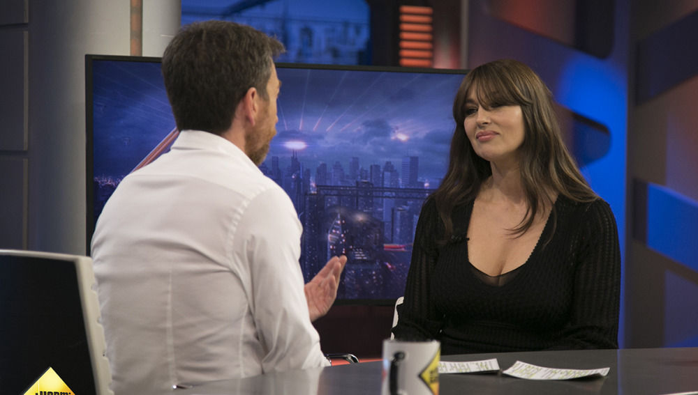 Mónica Bellucci en 'El Hormiguero 3.0'