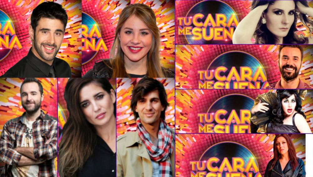 Los concursantes de la sexta edición de 'TCMS'