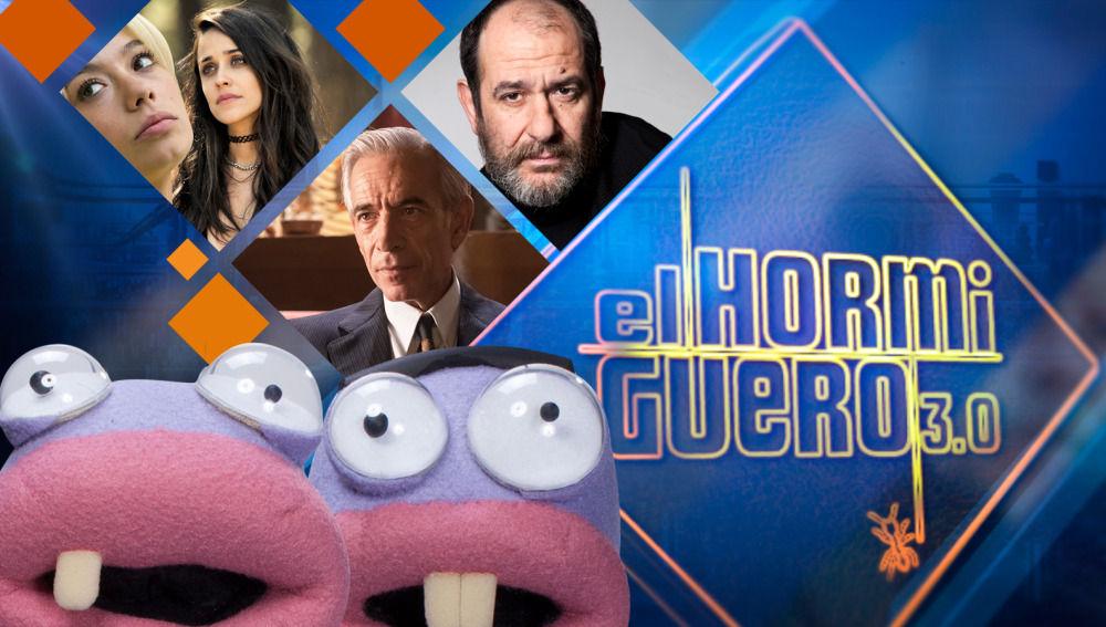 Macarena García y Anna Castillo, Imanol Arias, Karra Elejalde en 'El Hormiguero 3.0'