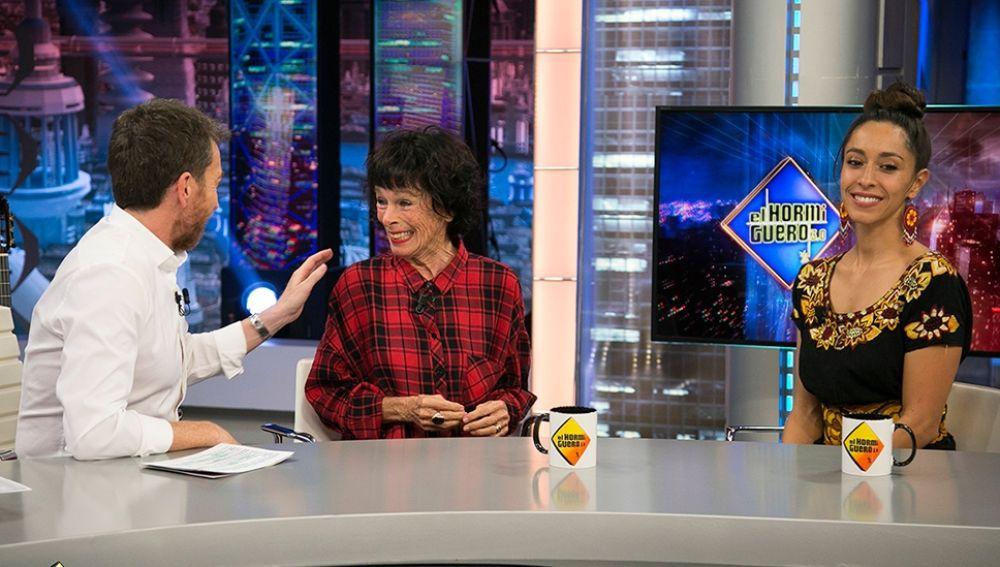 Geraldine y Oona Chaplin en El Hormiguero 3.0