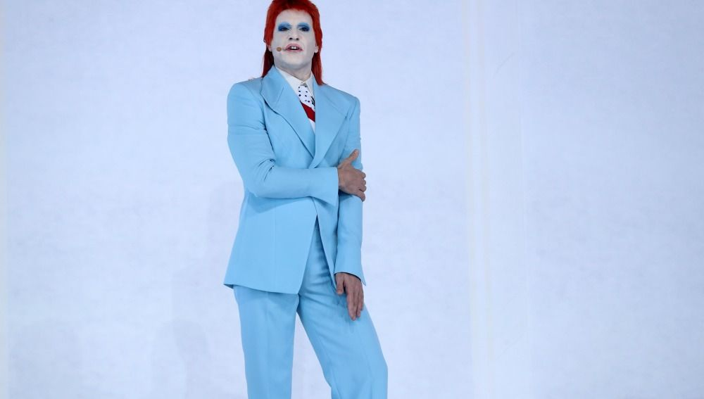 Miquel Fernández, en la piel de David Bowie