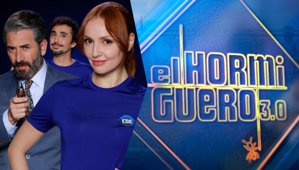 Cristina Castaño, Antonio Garrido y Canco Rodríguez, tres de los protagonistas de 'Cuerpo de élite'