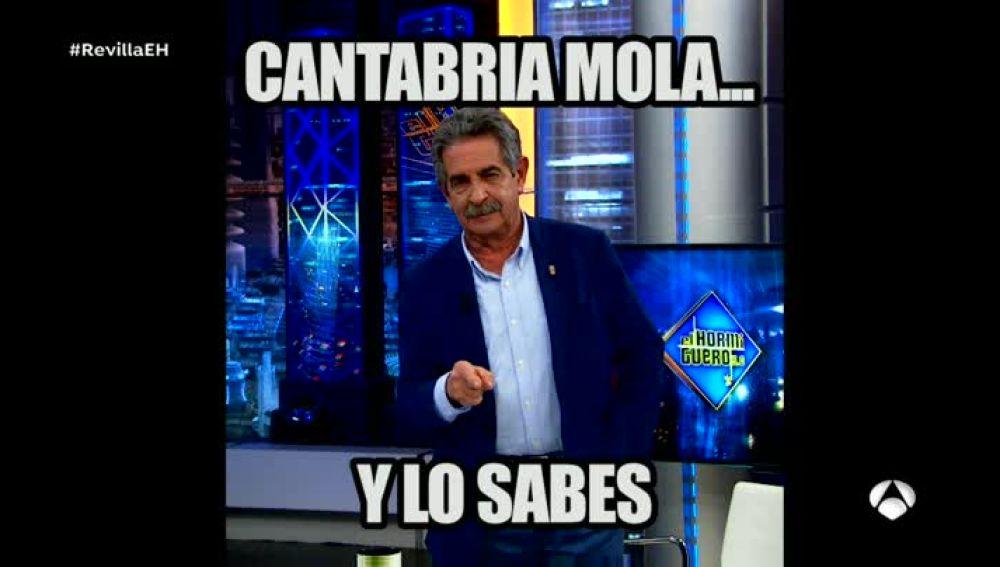 El 'meme' de Revilla en 'El Hormiguero 3.0'