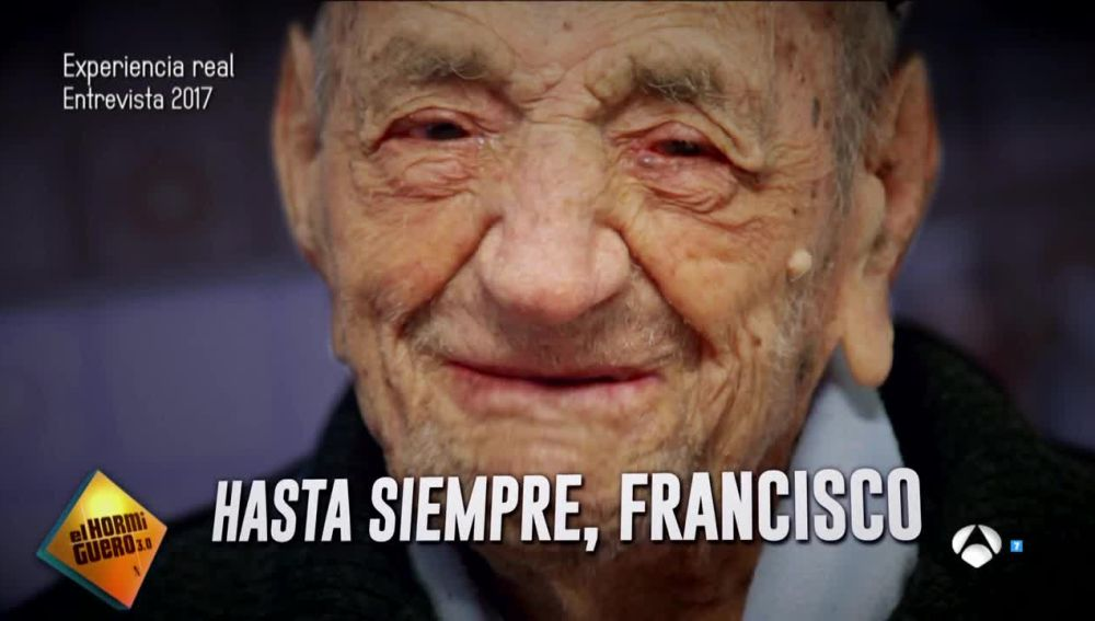 Francisco Núñez Olivera, el hombre más longevo del planeta