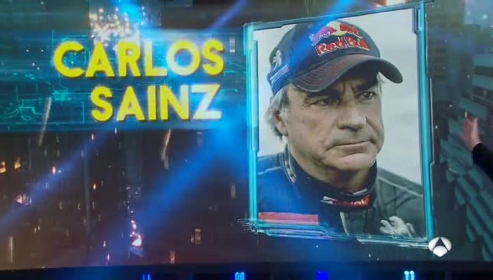 Carlos Sainz, en 'El Hormiguero 3.0'