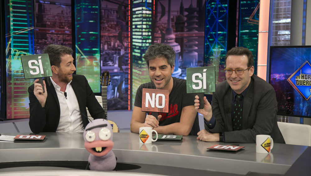 Ernesto Sevilla y Joaquín Reyes, en 'El Hormiguero 3.0'