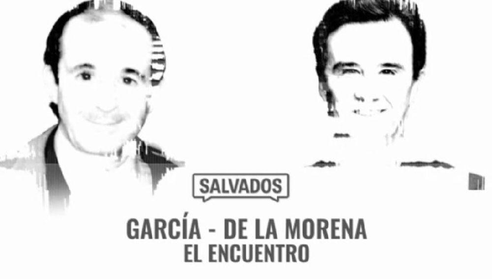 José María García y José Ramón de la Morena, en 'Salvados'