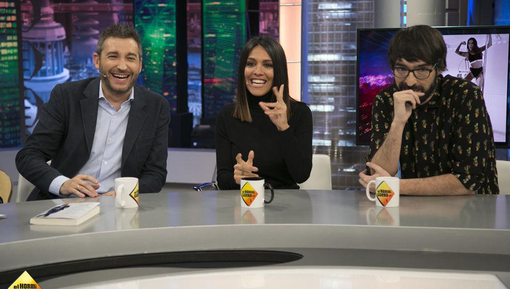 El Hormiguero: Frank Blanco, Lorena Castell y Quique Peinado (08-02-18)