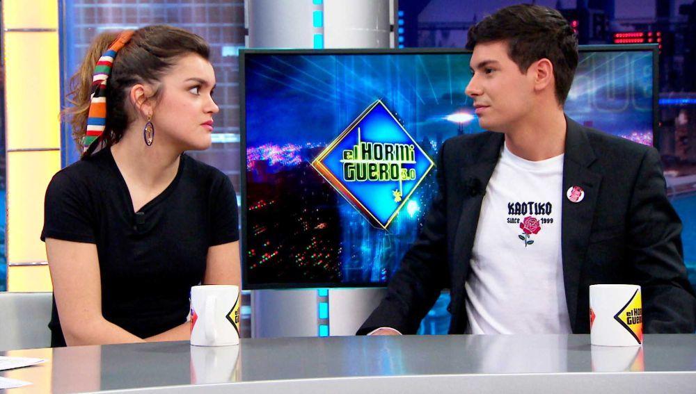 """La broma de Amaia y Alfred a Pablo Motos: """"hablemos de música"""""""