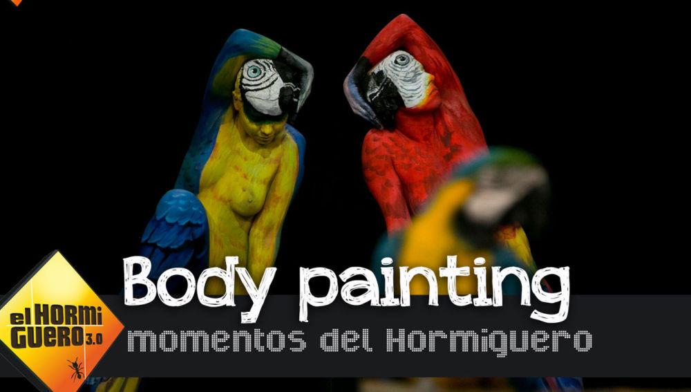 Muestra de Body Painting, en 'El Hormiguero 3.0'