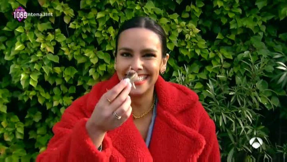 Cristina Pedroche se atreve a probar el Surströmming