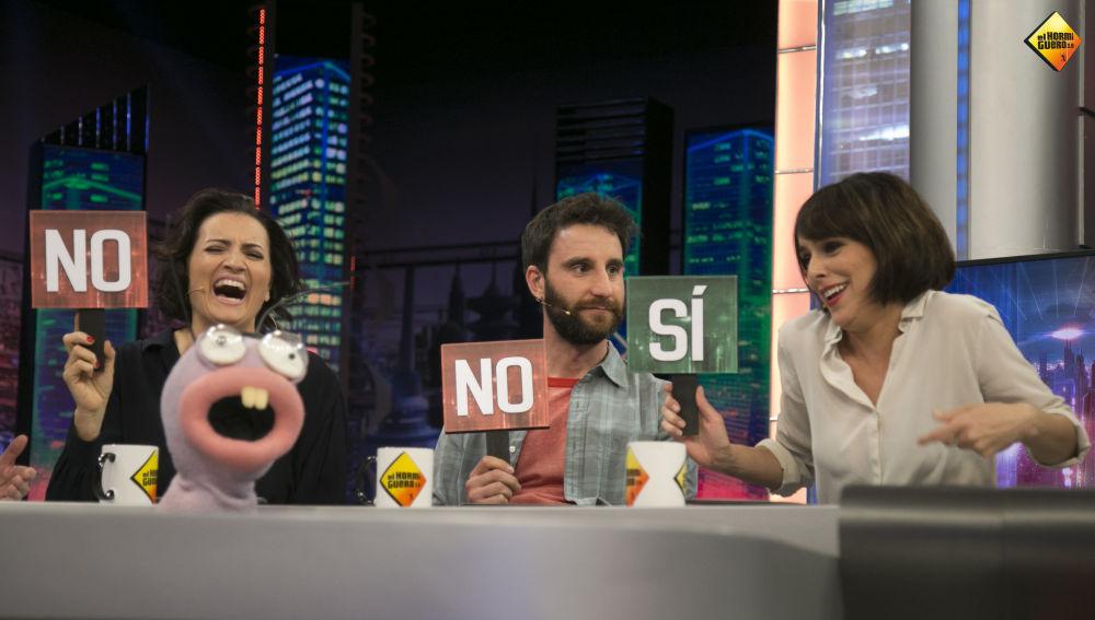 Silvia Abril, Dani Rovira y Belén Cuesta en 'El Hormiguero 3.0'