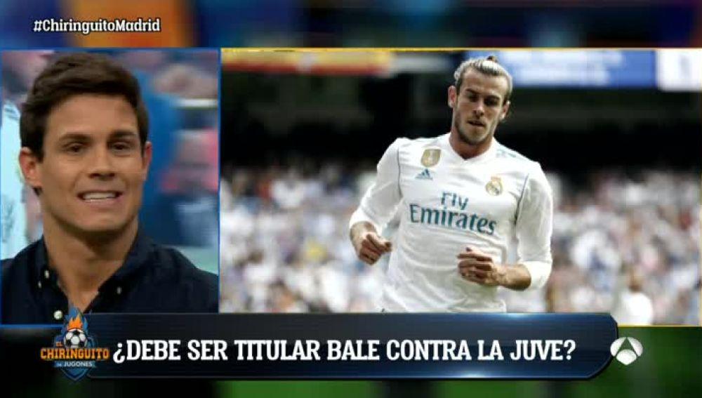 ¿Debe ser titular Bale contra la Juve?