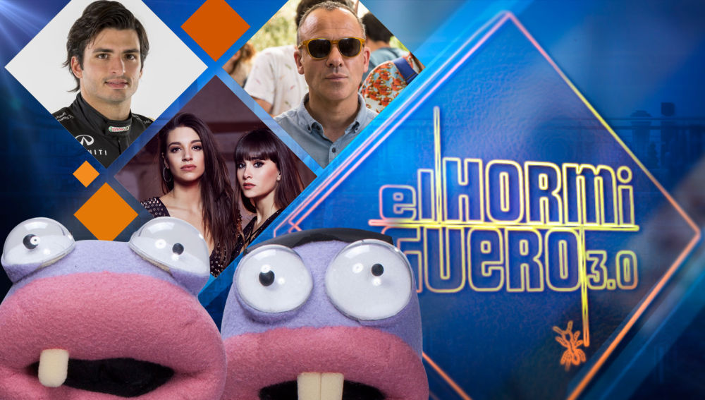 Carlos Sainz, Aitana War y Javier Gutiérrez, invitados de 'El Hormiguero 3.0'