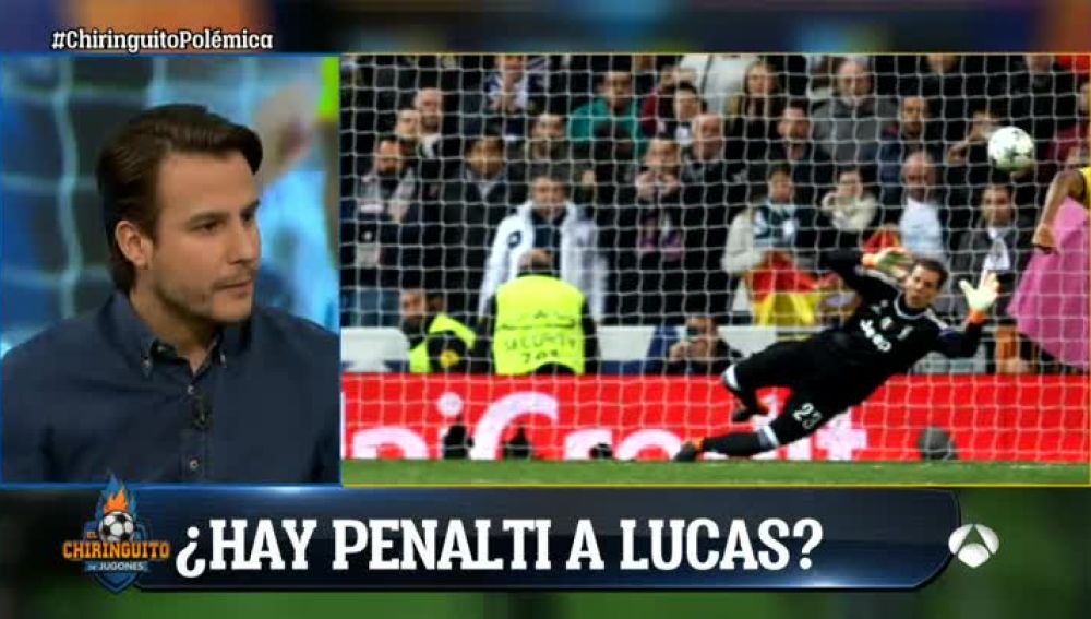 La jugada polémica en el Real Madrid - Juventus